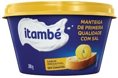 melhores marcas de manteiga de primeira qualidade itambé