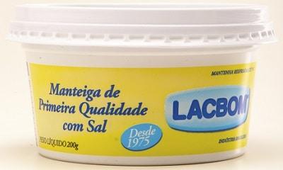 melhores marcas de manteiga de primeira qualidade lacbom