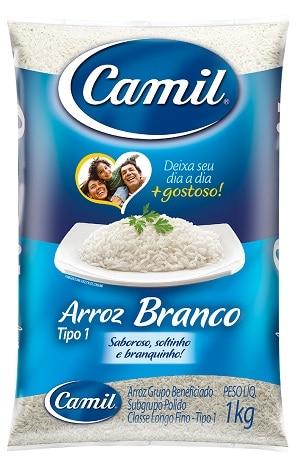 camil melhores marcas de arroz do Brasil