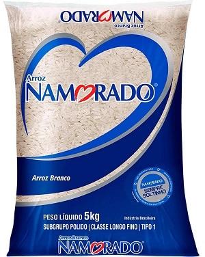 namorado melhores marcas de arroz do Brasil
