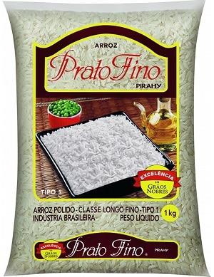 prato fino melhores marcas de arroz do Brasil