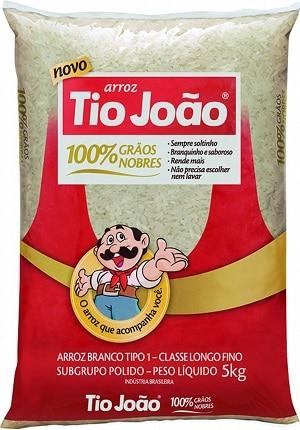 tio joão melhores marcas de arroz do Brasil