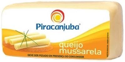 piracanjuba 10 melhores marcas de queijo mussarela do Brasil