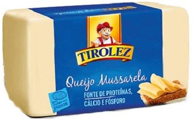 10 melhores marcas de queijo mussarela do Brasil tirolez