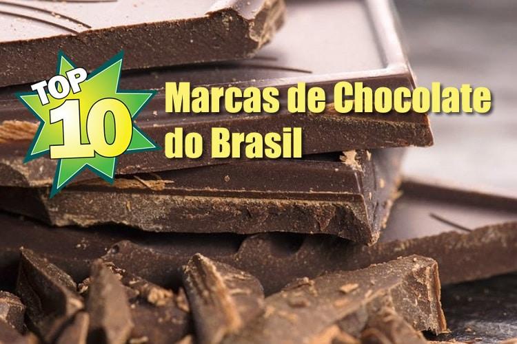 10 melhores marcas de chocolate do Brasil