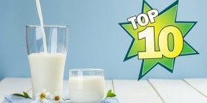 10 melhores marcas de leite longa vida do Brasil