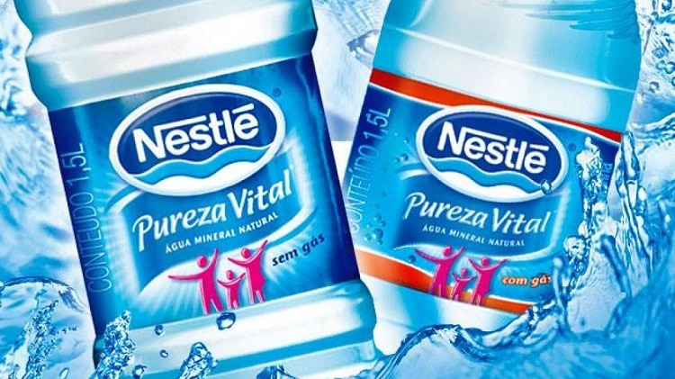 pureza vital nestlè 10 melhores marcas de água mineral do Brasil