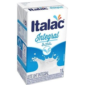 italac 10 melhores marcas de leite longa vida do Brasil