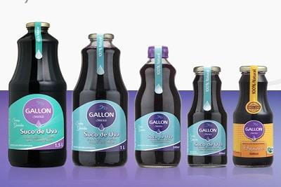 gallon 10 melhores marcas de suco de uva integral do Brasil