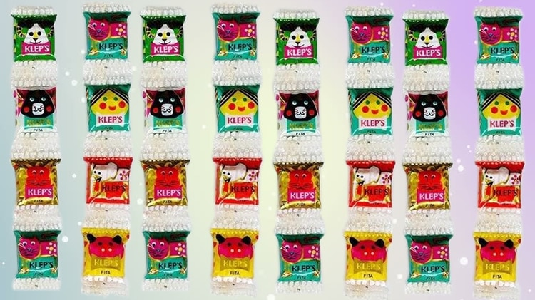 melhores doces dos anos 80 e 90 balas kleps