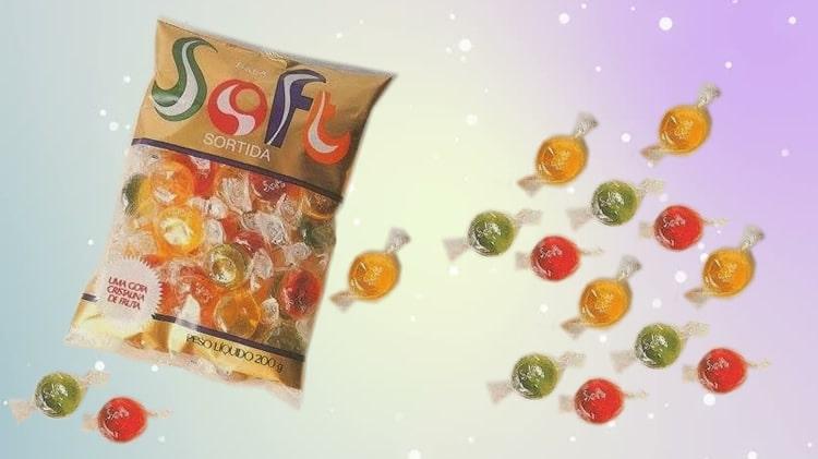 bala soft melhores doces dos anos 80 e 90