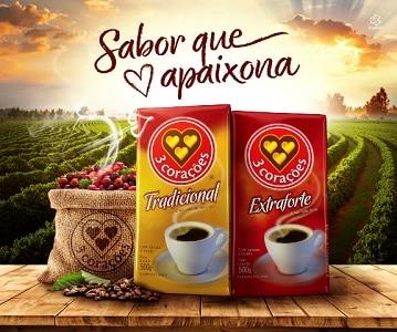 3 corações 10 melhores marcas de café do brasil