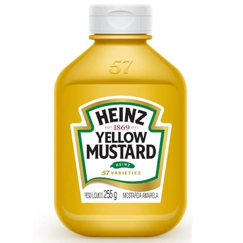 melhores marcas de mostarda heinz