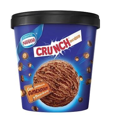 crunch 10 melhores marcas de sorvete do brasil
