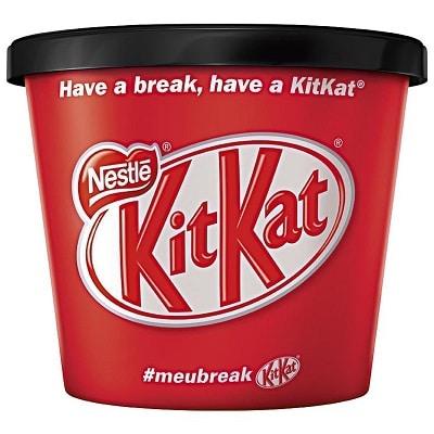 kitkat 10 melhores marcas de sorvete do brasil